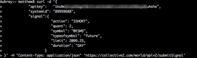 Collective2 API Documentation - version 3